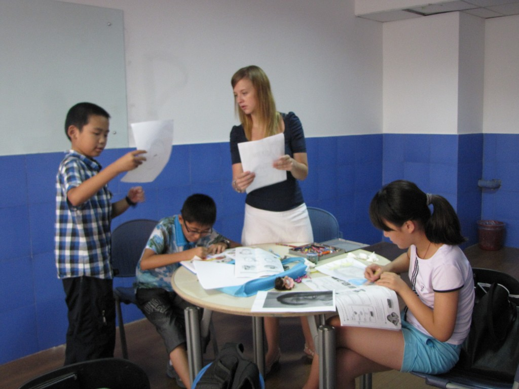 Laura Graham teaching in China - no degree, no problem!