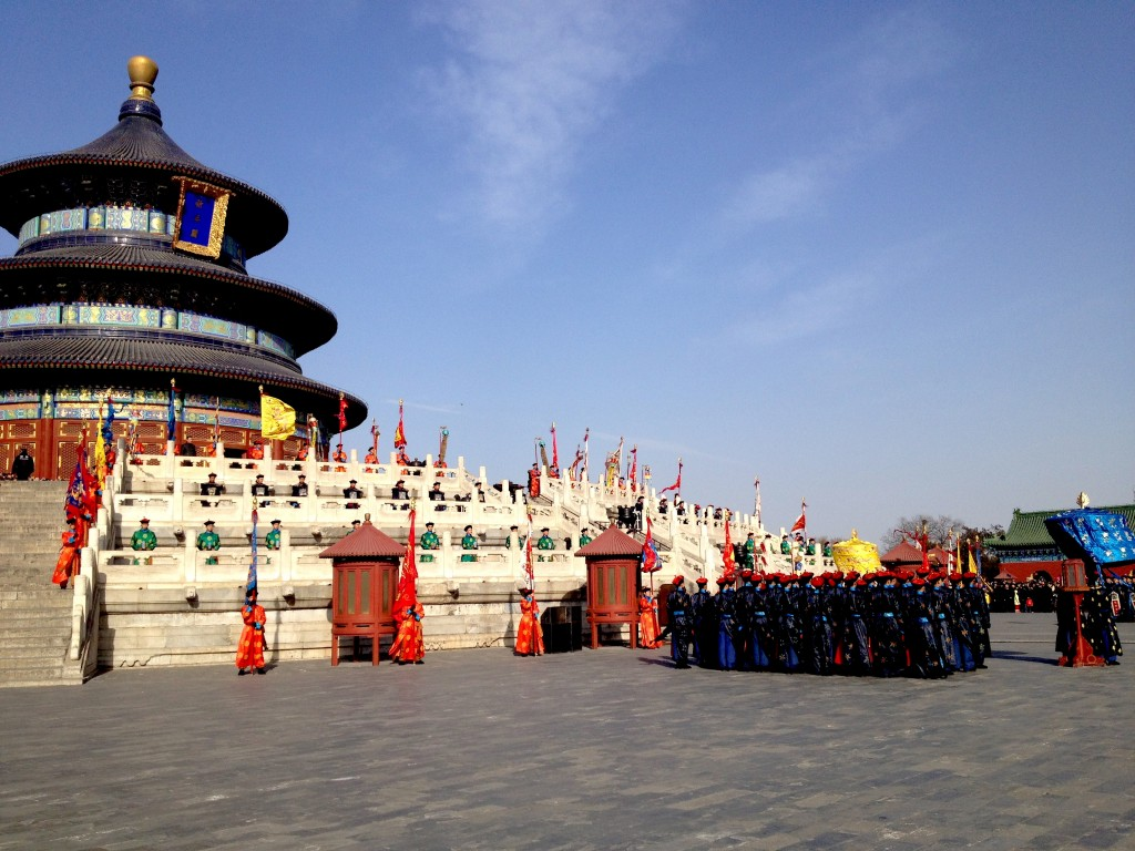 Emperor Visiting the Temple of Heaven (Re-enactment)