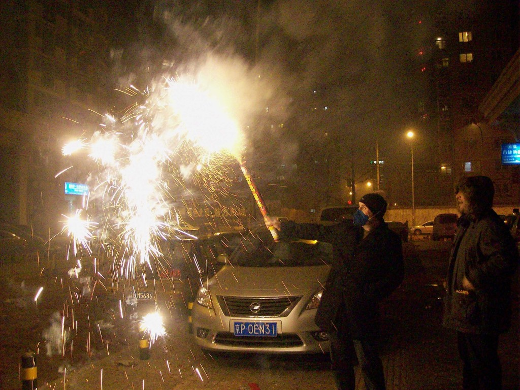 The TEFLCast`s own, Adam, rings in the New Year with fireworks of his own.