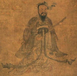 Portrait of Qu Yuan by Chen Hongshou (Photo from www.wikipedia.com)