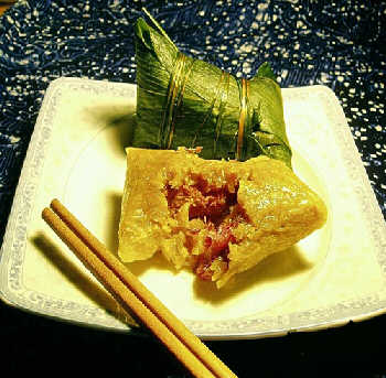 Zongzi (Photo from www.chinesechurchvoices.com)
