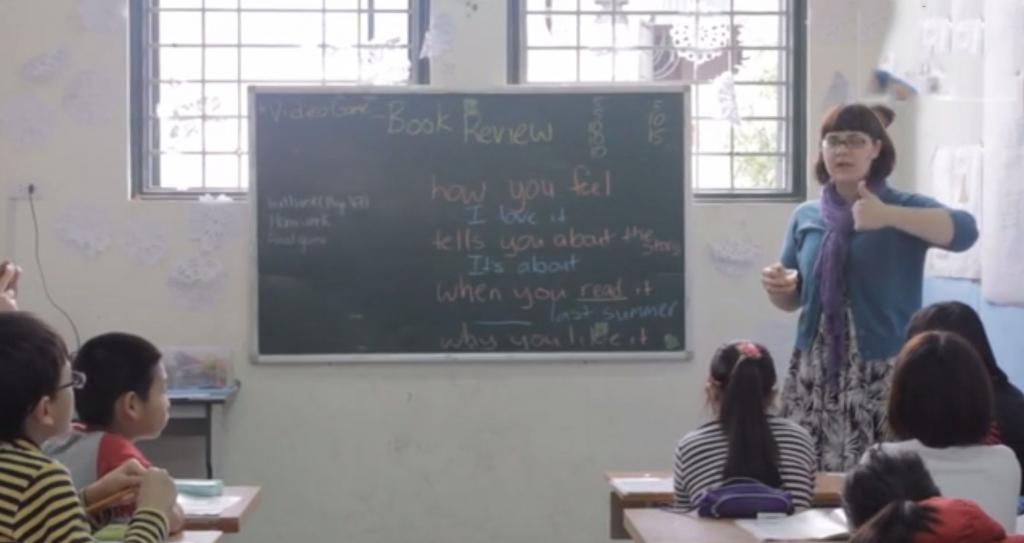 Liz in classroom (good)