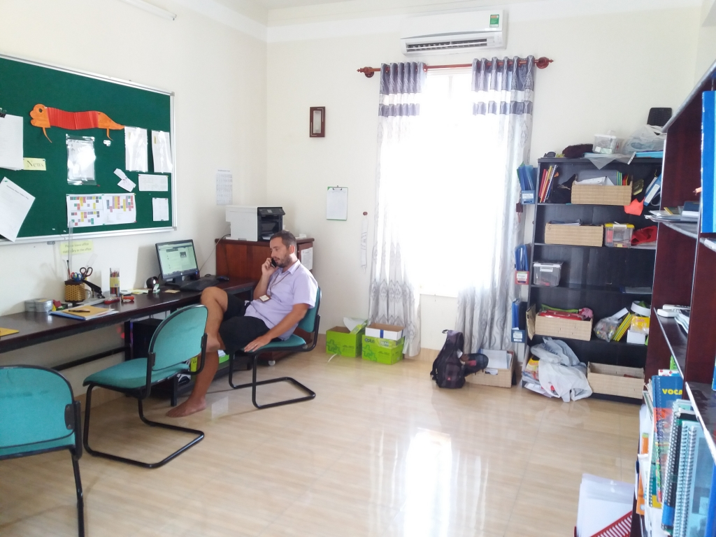 Finding Your Place in the TEFL Teachers' Room