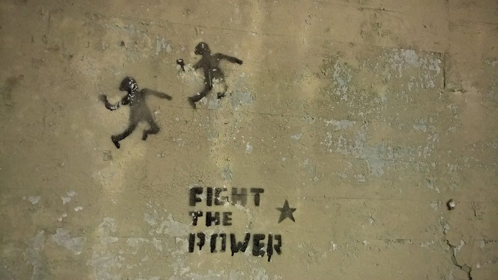 Fight the power!