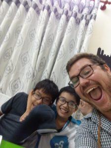 Nathan and students-1-1