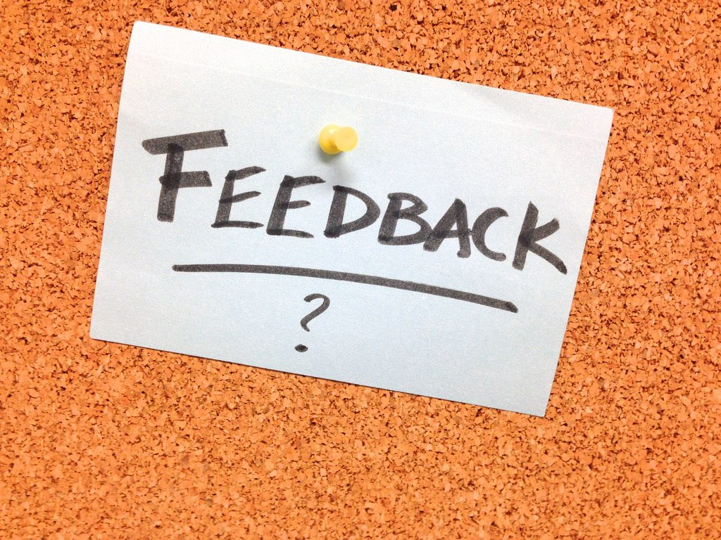 Best Practices for Receiving Feedback