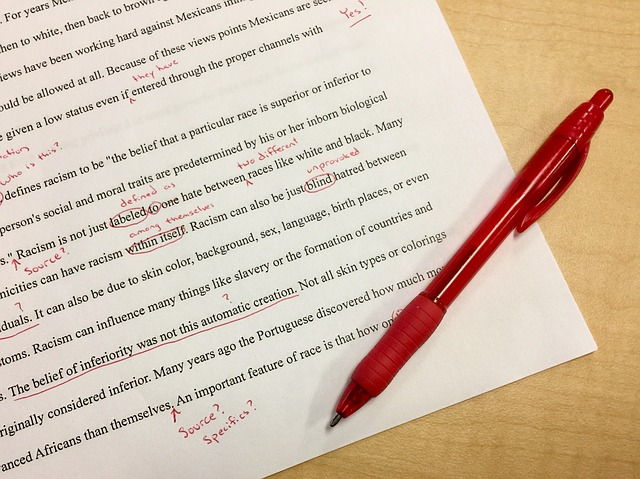 How to review and edit your IELTS writing – Part 2
