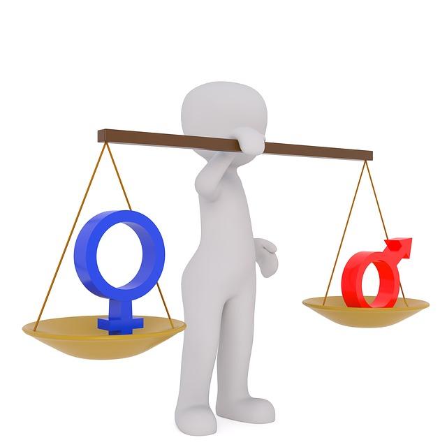 Feminine and Masculine in IELTS grammar