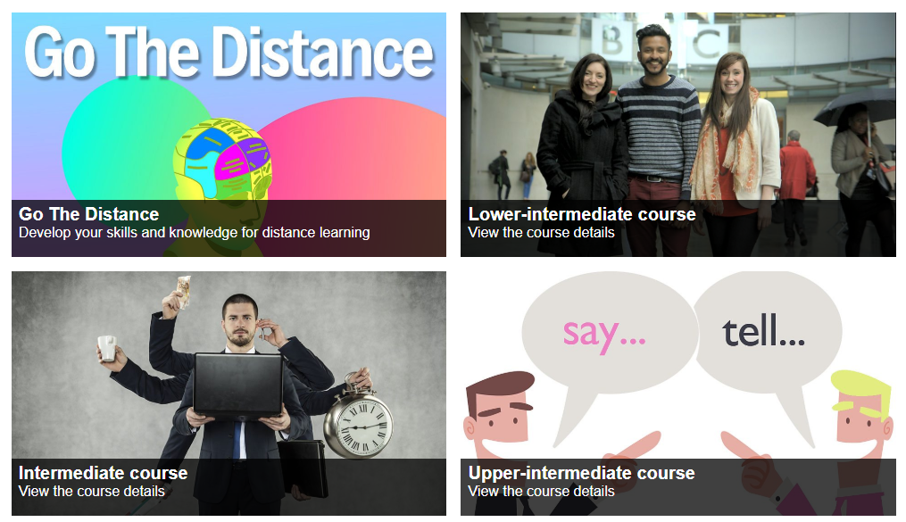 Expand your English with BBC Learning – Courses