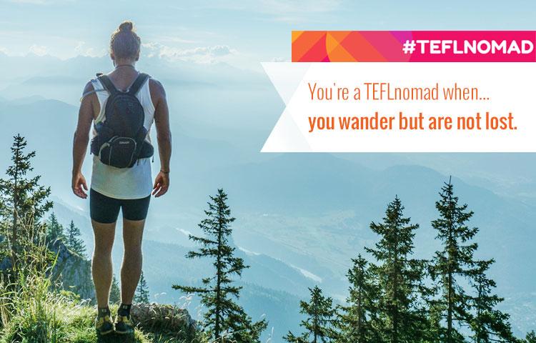TEFL nomad banner