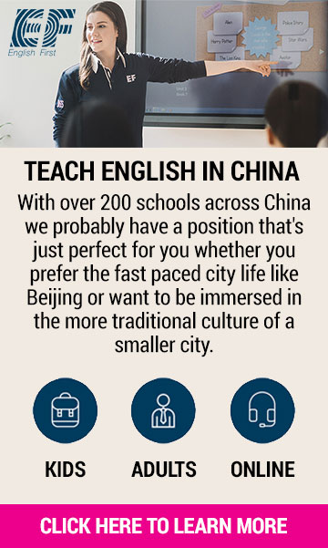 Tefl Express Sidebar Teach English in China